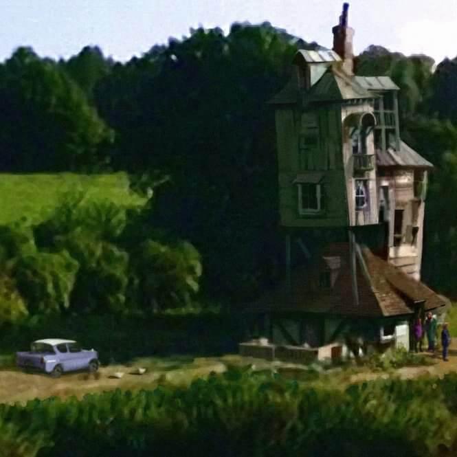 ウィーズリー家 隠れ穴