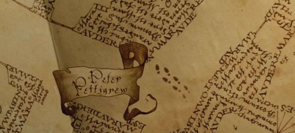 ハリーポッターとアズカバンの囚人 忍びの地図
